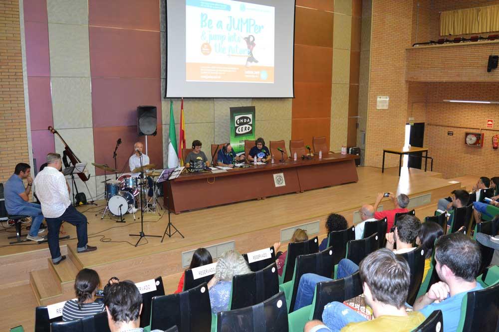 Acto de inauguración del programa JUMP de la UAL.