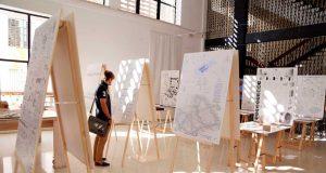 Proyectos expuestos en la ETS de Arquitectura de la UMA.