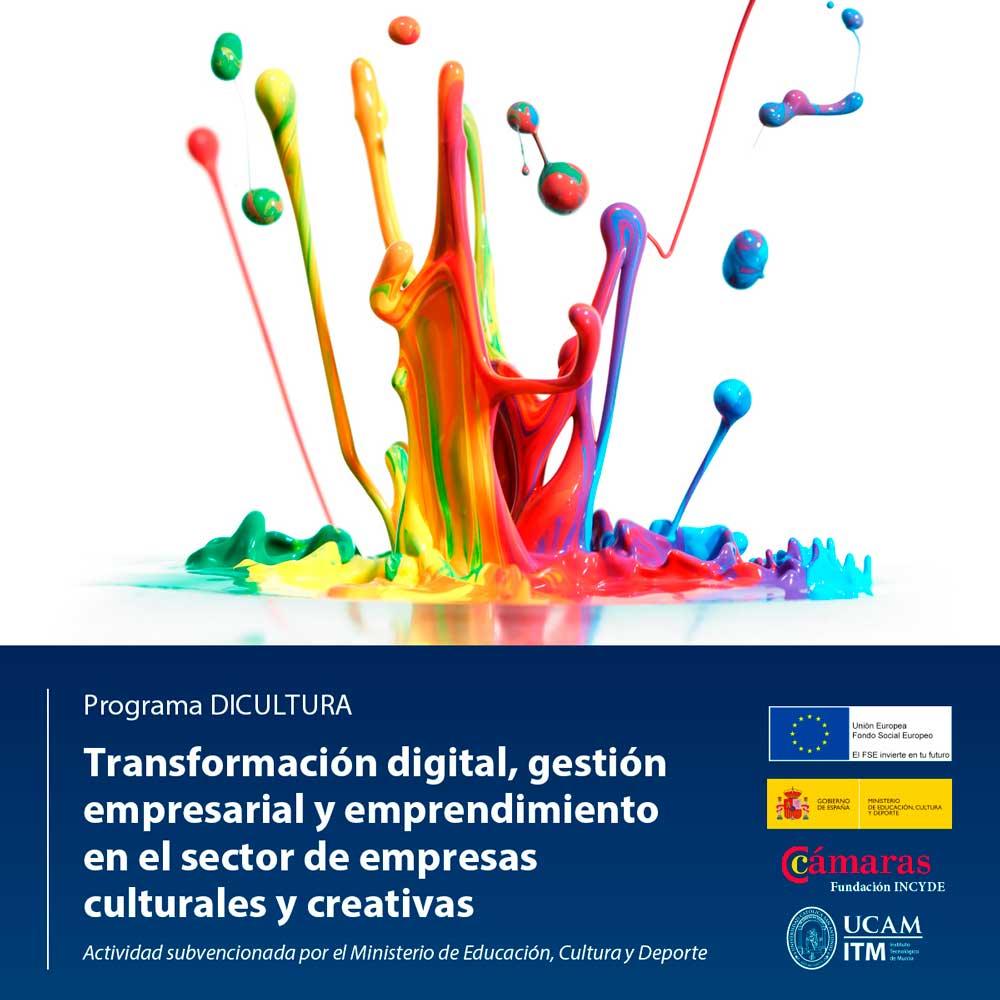 Cartel del proyecto Dicultura.