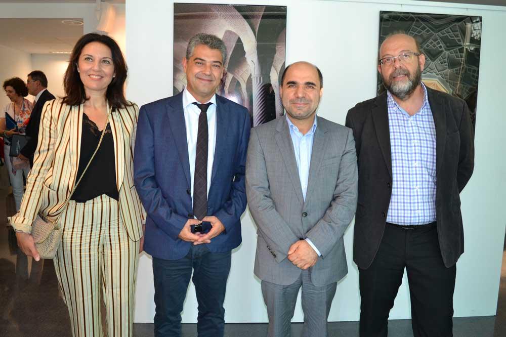 Representantes de la UAL con el consejero de Cultura de Irán.