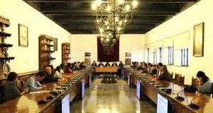 Presentación en la UGR del Granada Congress Club.