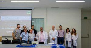 Familiares de las víctimas e investigadores de la UGR.
