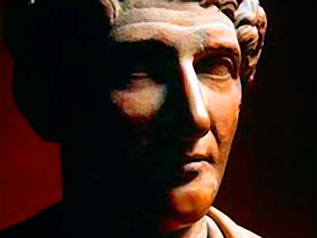 Escultura de Ovidio.