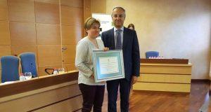 Juan Ramón Lanzas ha entregado el premio de Fomento de la Cultura Emprendedora.