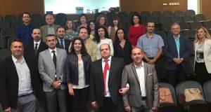Responsables del programa de intercambio de profesionales de la UAL.