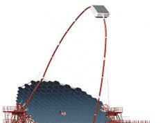 Modelo del telescopio del proyecto CTA.