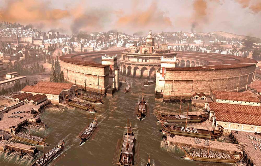 Escena de Total War.
