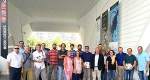 Investigadores de la Universidad de Alicante que colaboran con el Museo de las Artes y las Ciencias de Valencia.