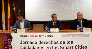 Jornadas sobre Smartcities celebradas en la UCAM.