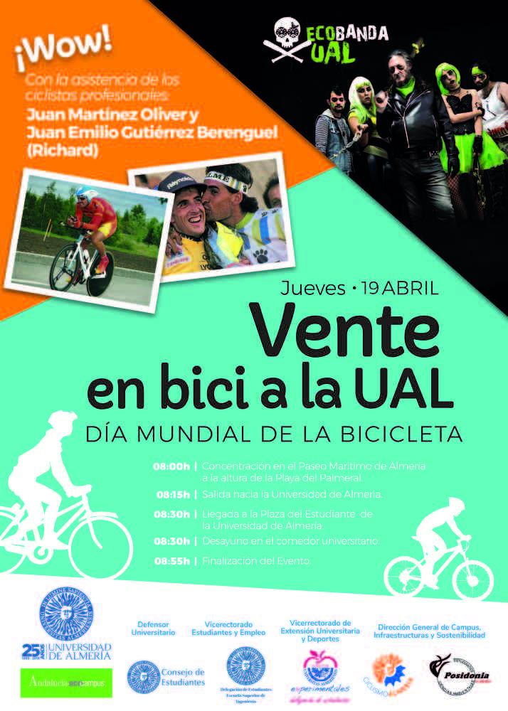 En bici a la UAL este jueves 19 - Nova Ciencia