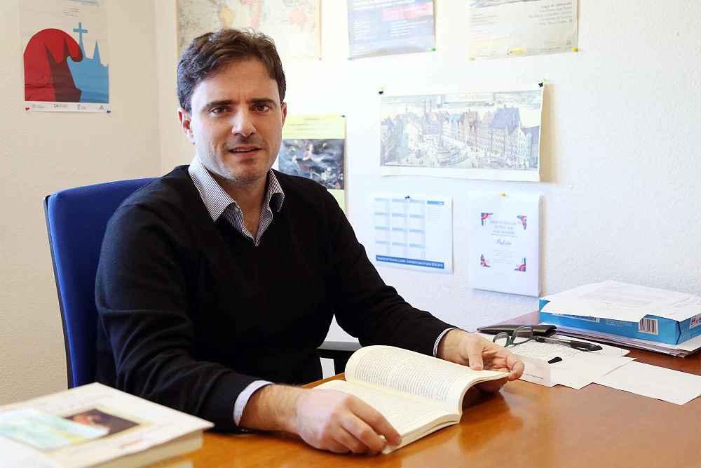 Antonio Calvo, profesor de Historia en la Universidad de Málaga.