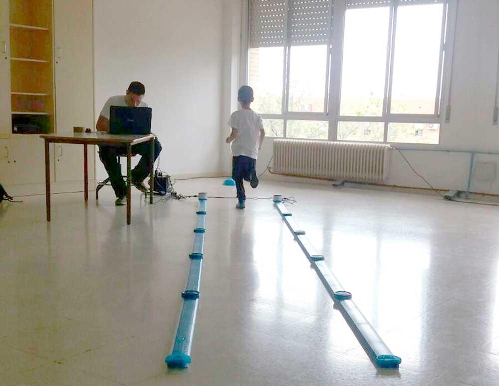Estudio sobre el patrón de la pisada realizado por la Universidad de Jaén.