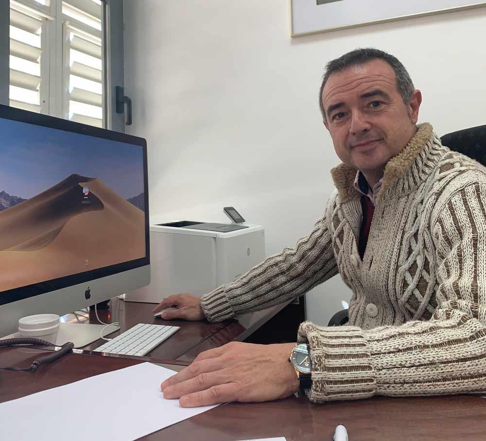 Enrique de Amo, decano de la Facultad de Ciencias Experimentales de la Universidad de Almería.