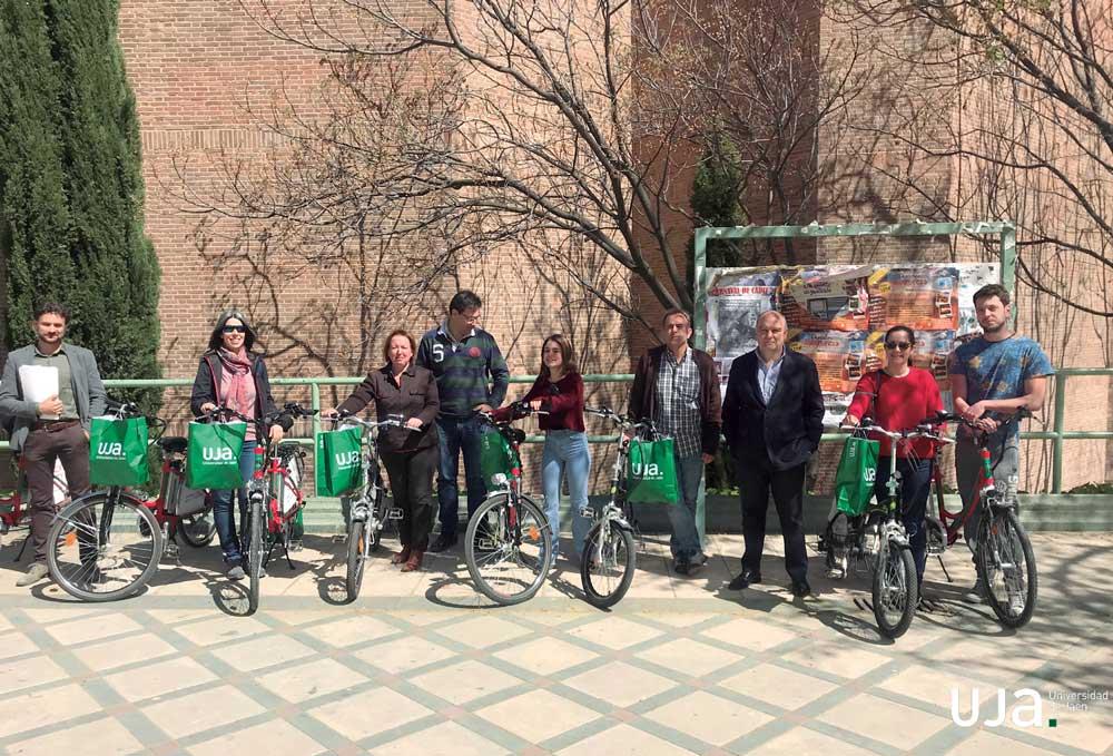 La Universidad de Jaén fomenta la movilidad sostenible.