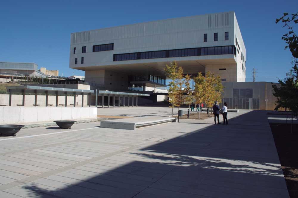 Campus científico y tecnológico de Linares, de la Universidad de Jaén.