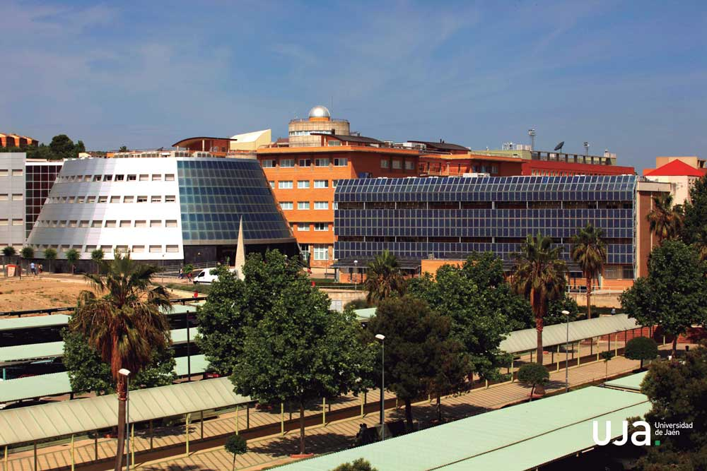 Campus de la Universidad de Jaén, moderno e innovador.