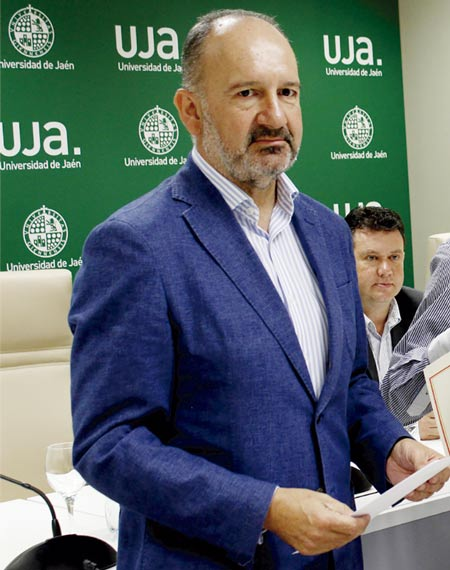Pedro Pérez Higueras, vicerrector de Transferencia.