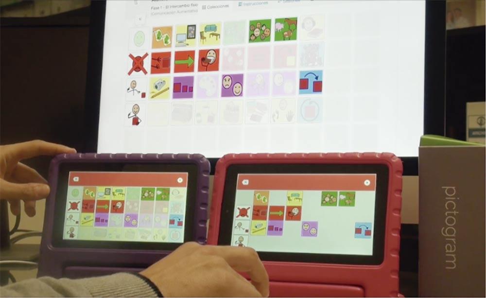 Tablet de la empresa de base de conocimiento Yottacode