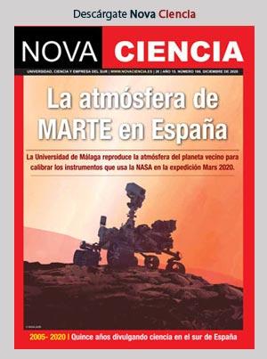Nova Ciencia diciembre-enero 2021 - Marte en la Costa del Sol
