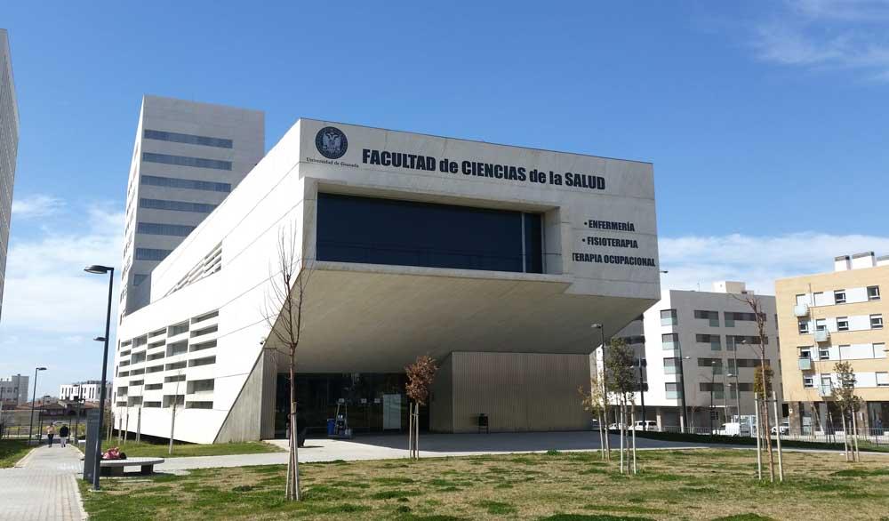 Facultad de Ciencias de la Salud de la Universidad de Granada.