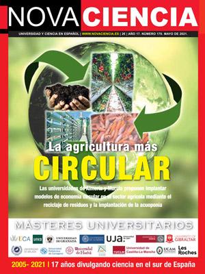 Portada de Nova Ciencia mayo 2021. Másteres de Andalucía.