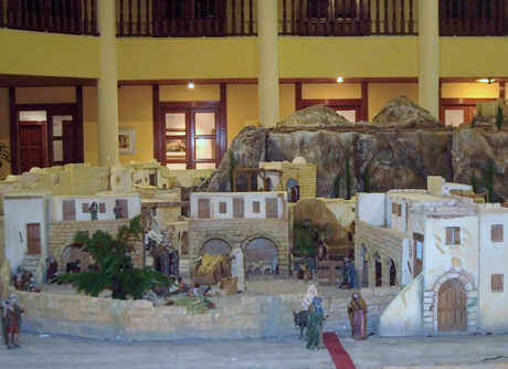 7b41bb9d082 El área de Educación y Cultura del Ayuntamiento de Roquetas de Mar ha  convocado el Concurso de Belenes 2013