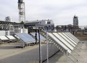 Sistema para la desconaminación de aguas que se estudia en el Master de Energía Solar.