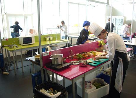 Silestone asiste por segundo a o madrid fusi n la cumbre for Cocina internacional madrid
