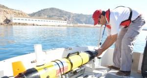 Dron submarino de la UPCT.