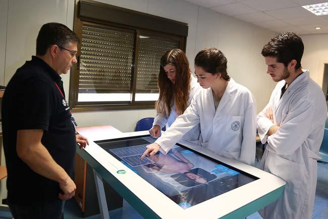 Herramienta de simulación que usan alumnos de la UCAM.