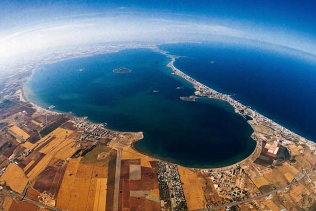 Resultado de imagen de vista aérea del mar menor