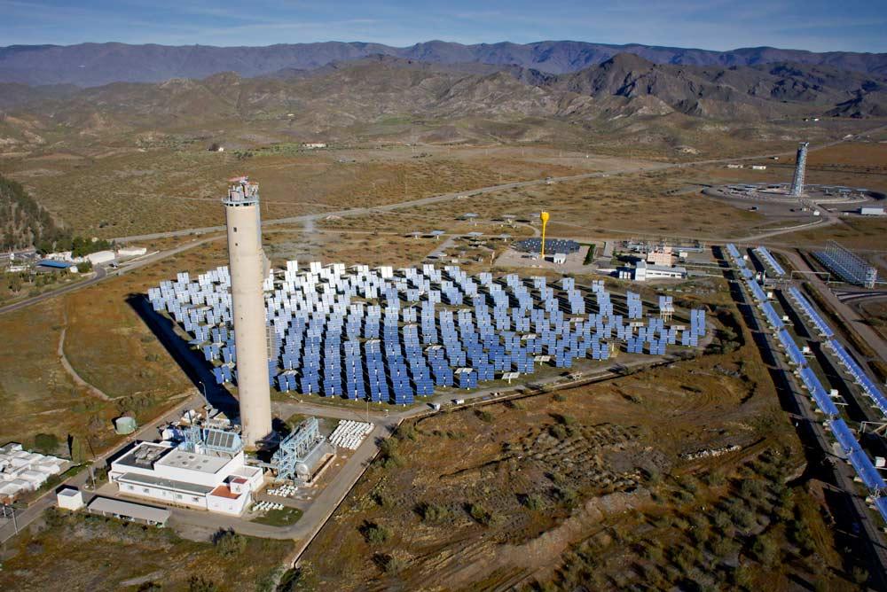 Plataforma Solar de Almería.