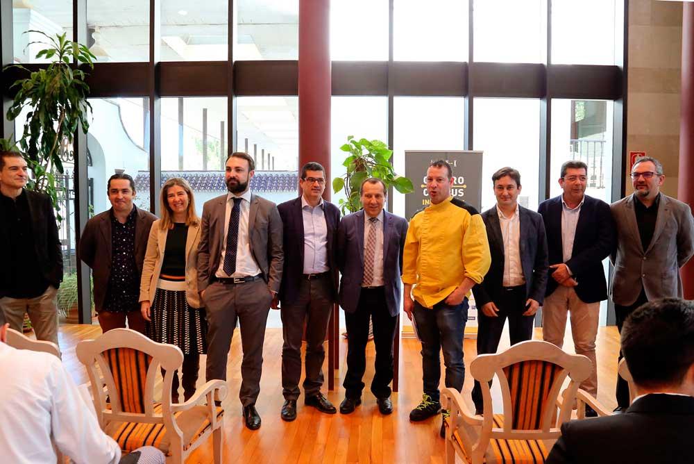 Participantes en el Gastro Campus de la UMA.