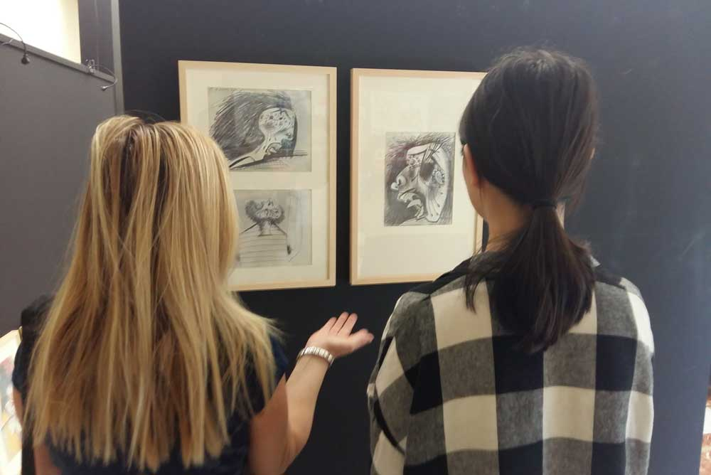 Los bocetos del Guernica en la UMU.
