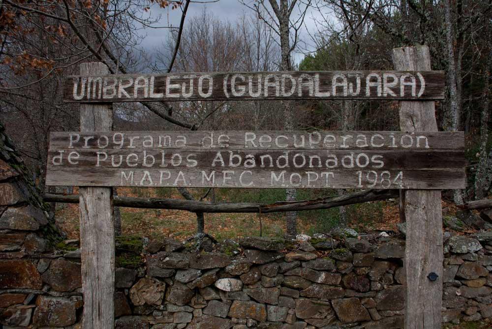Umbralejo es uno de los tres pueblos que se suman al plan del MECD.