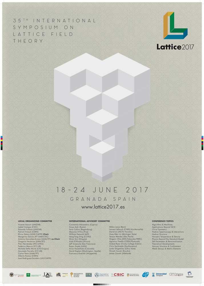 Cartel de la conferecia que se desarrollará en Granada.