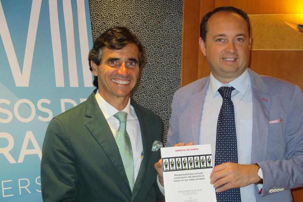 Ramón Herrera (a la derecha), director del curso de verano de la UAL.