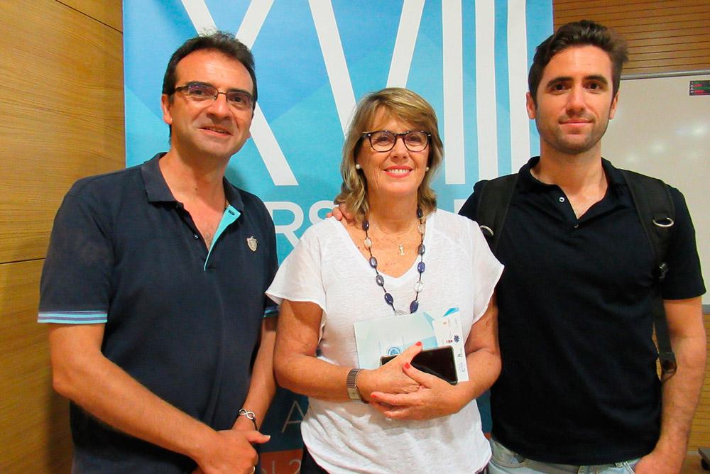 Fernández Prados, Isabel Guirao y Tito Spínola.