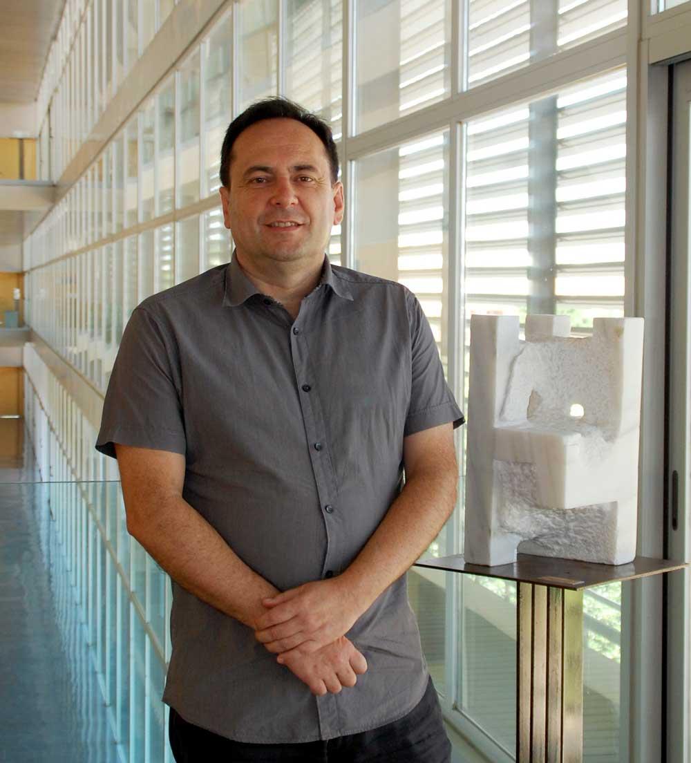 Juan García, vicerrector de Enseñanzas Oficiales y Formación Continua de la UAL.
