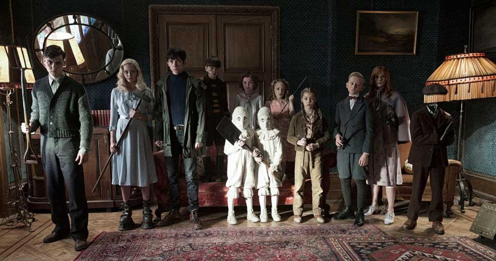 Imagen de El hogar de Miss Peregrin para niños peculiares.