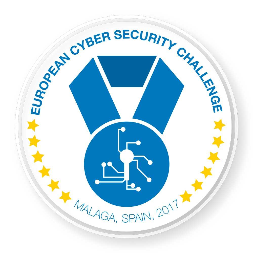 Logo de la European Cyber Security Challenge.