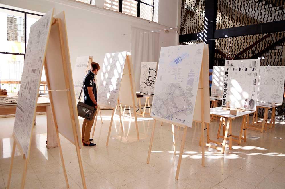La xiii bienal espa ola de arquitectura y urbanismo visita la ets de arquitectura de la uma - Ets arquitectura malaga ...