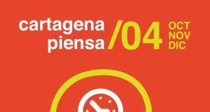 Cartel del ciclo Cartagena Piensa.