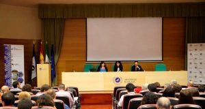 Inauguración de la reunión del GEC en la UMA.