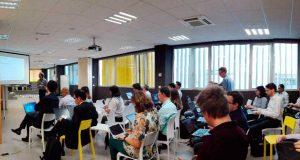 Expertos europeos durante una de las sesiones sobre 5G.