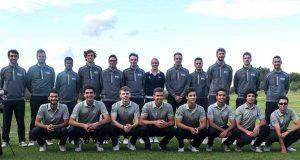 Jugadores de golf de la Universidad de Málaga.