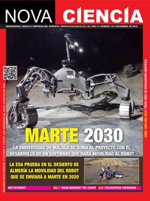 Portada Nova Ciencia noviembre 18: Marte 2030.