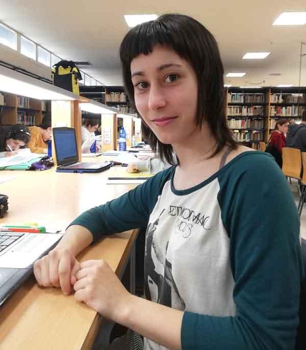Patricia Nájera, autora del estudio sobre producción de hidrógeno.