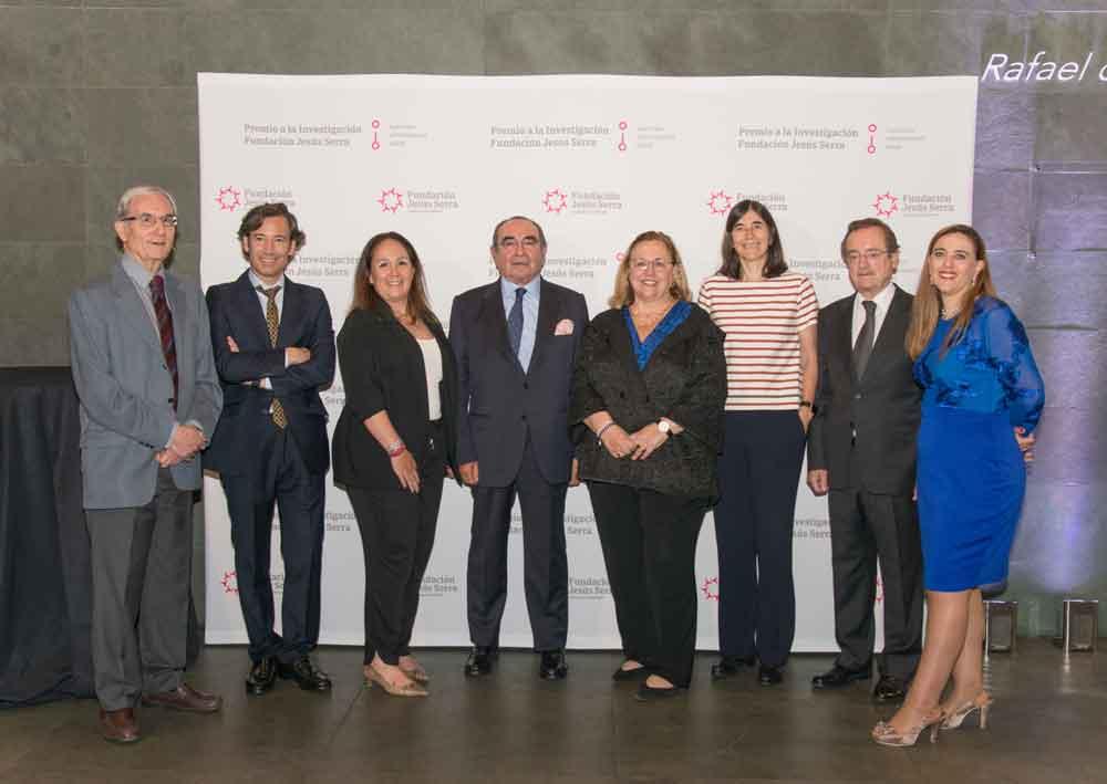 Jurado de los premios de la Fundación Jesús Serra.