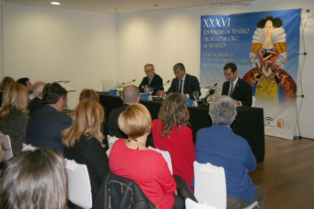 José Guirao, Carmelo Rodríguez y Ramón Fernández-Pacheco.